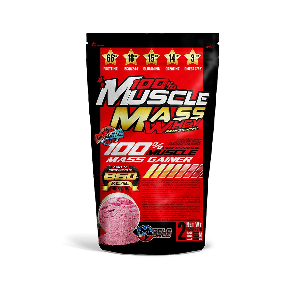 Muscle Mass Whey Pro Box - Muscle Force - Store