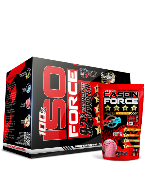 Iso Force + Free Casein