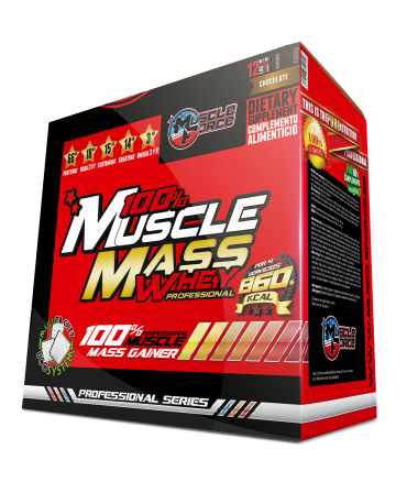 Muscle Mass Whey Pro Box